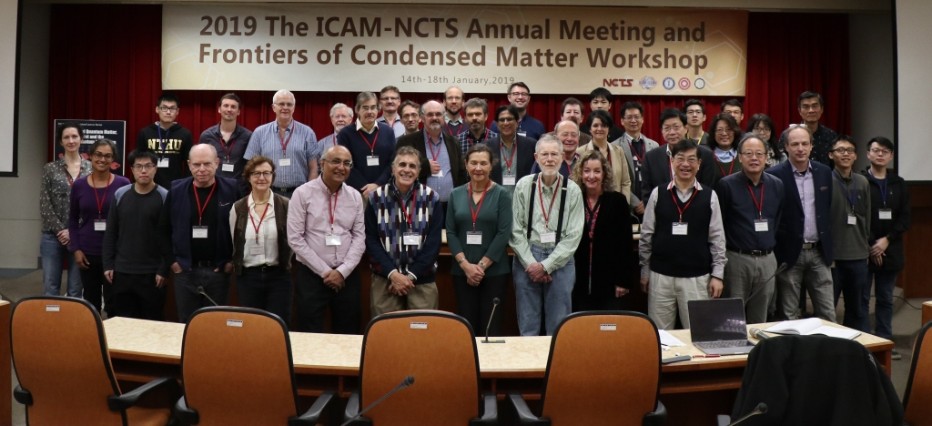 Photo of ICAM-NCTS 2019 attendees