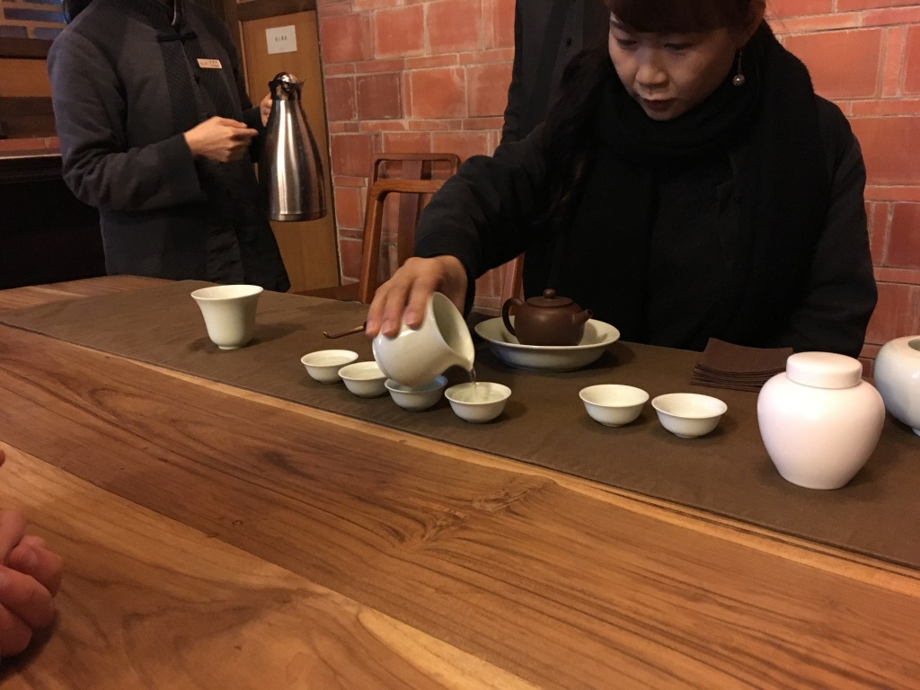 Tea Ceremony at Nanyuan